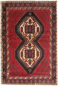 Afszar/Sirjan Dywan 167X247 Orientalny Tkany Ręcznie Ciemnoczerwony/Brązowy (Wełna, Persja/Iran)