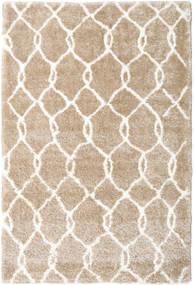 Shaggy Taza - Bézs / White szőnyeg CVD19596