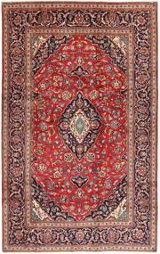 Keshan Vloerkleed 197X312 Echt Oosters Handgeknoopt Bruin/Donkerbruin (Wol, Perzië/Iran)