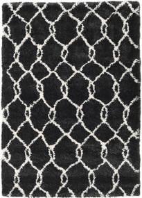 Shaggy Taza - Dark Grey/Off-White Rug 160X230 Modern Black ( Turkey)