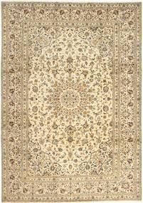 Keshan Matta 242X342 Äkta Orientalisk Handknuten Beige/Ljusbrun (Ull, Persien/Iran)