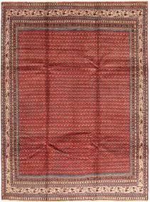 Sarough Mir Teppe 230X308 Ekte Orientalsk Håndknyttet Mørk Rød/Brun (Ull, Persia/Iran)