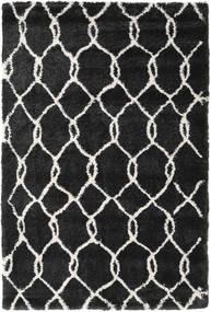 シャギー Taza - ダーク グレー / Off-白 絨毯 CVD19371