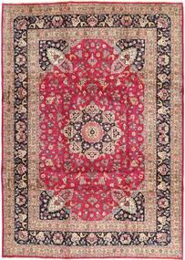 Kashmar Rug 246X343 Authentic  Oriental Handknotted Light Brown/Purple (Wool, Persia/Iran)
