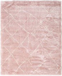 Shaggy Agadir - Soft Rose / Off-Weiß Teppich CVD19574