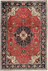 Tabriz Rug 198X303 Authentic  Oriental Handknotted Dark Red/Dark Brown (Wool, Persia/Iran)