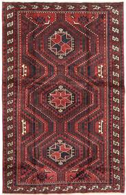 Lori Rug 167X262 Authentic  Oriental Handknotted Dark Red/Dark Brown (Wool, Persia/Iran)