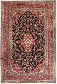 Keshan Matta 242X357 Äkta Orientalisk Handknuten Brun/Mörkbrun (Ull, Persien/Iran)