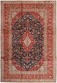 Keshan Matta 240X355 Äkta Orientalisk Handknuten Mörkröd/Brun (Ull, Persien/Iran)