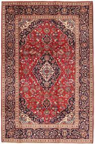 Keshan Alfombra 197X300 Oriental Hecha A Mano Rojo Oscuro/Marrón (Lana, Persia/Irán)