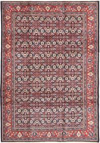 Arak Matta 215X310 Äkta Orientalisk Handknuten Ljuslila/Mörkbrun (Ull, Persien/Iran)