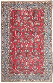 Najafabad Matto 200X315 Itämainen Käsinsolmittu Vaaleanharmaa/Tummanpunainen (Villa, Persia/Iran)