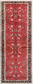 バクティアリ 絨毯 140X375 オリエンタル 手織り 廊下 カーペット 深紅色の/赤 (ウール, ペルシャ/イラン)