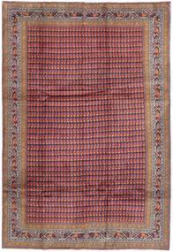 Ardabil Tapis 210X310 D'orient Fait Main Violet Foncé/Rouge Foncé (Laine, Perse/Iran)