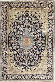 Najafabad Matto 249X382 Itämainen Käsinsolmittu Vaaleanharmaa/Beige (Villa, Persia/Iran)