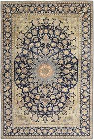 Najafabad Alfombra 249X382 Oriental Hecha A Mano Marrón Claro/Negro (Lana, Persia/Irán)