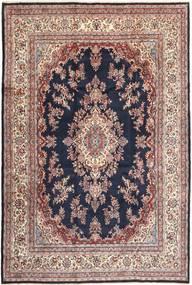 Hamadan Shahrbaf Vloerkleed 253X372 Echt Oosters Handgeknoopt Lichtbruin/Donkerpaars Groot (Wol, Perzië/Iran)