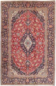 Keshan Matta 197X302 Äkta Orientalisk Handknuten Ljuslila/Mörklila (Ull, Persien/Iran)