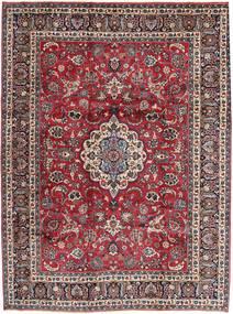 Mashad Alfombra 260X343 Oriental Hecha A Mano Azul Oscuro/Rojo Oscuro Grande (Lana, Persia/Irán)