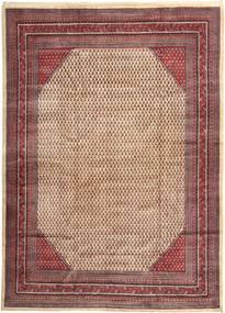 サルーク Mir 絨毯 277X385 オリエンタル 手織り 薄茶色/深紅色の 大きな (ウール, ペルシャ/イラン)