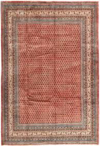 Sarouk Mir Rug 210X313 Authentic  Oriental Handknotted Brown/Light Brown (Wool, Persia/Iran)