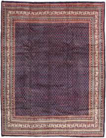 Sarouk Mir Rug 286X368 Authentic  Oriental Handknotted Dark Purple/Light Purple Large (Wool, Persia/Iran)