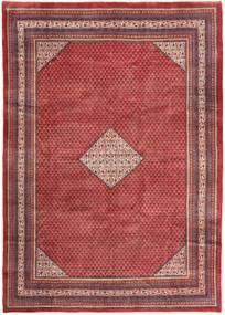 Sarough Mir Matta 250X353 Äkta Orientalisk Handknuten Mörkröd/Brun Stor (Ull, Persien/Iran)