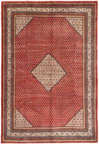 Sarouk Mir Rug 215X315 Authentic  Oriental Handknotted Dark Red/Brown (Wool, Persia/Iran)
