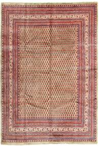 Sarouk Mir Rug 215X315 Authentic  Oriental Handknotted Brown/Light Brown (Wool, Persia/Iran)