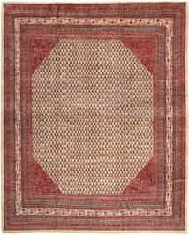 Saruk Mir Dywan 303X376 Orientalny Tkany Ręcznie Ciemnobrązowy/Brązowy Duży (Wełna, Persja/Iran)
