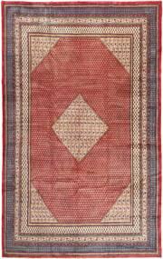 Sarough Mir Matto 300X481 Itämainen Käsinsolmittu Tummanbeige/Violetti Isot (Villa, Persia/Iran)