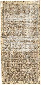 Colored Vintage Rug 98X205 Authentic  Modern Handknotted Beige/Light Grey (Wool, Persia/Iran)