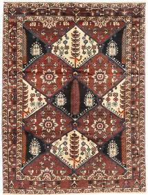 Bakhtiari Rug 160X215 Authentic Oriental Handknotted Dark Brown/Dark Red/Brown (Wool, Persia/Iran)