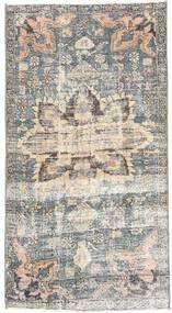 Hamadan Patina Dywan 80X153 Orientalny Tkany Ręcznie Jasnoszary/Beżowy (Wełna, Persja/Iran)