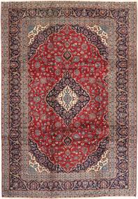 Keshan Rug 247X353 Authentic  Oriental Handknotted Light Brown/Dark Red (Wool, Persia/Iran)