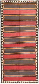 Kilim Fars Rug 146X322 Authentic  Oriental Handwoven Hallway Runner  Light Brown/Orange (Wool, Persia/Iran)