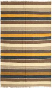Kilim Rug 157X262 Authentic  Oriental Handwoven Brown/Beige (Wool, Persia/Iran)