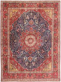 Tabriz Patina Teppe 295X390 Ekte Orientalsk Håndknyttet Brun/Lilla Stort (Ull, Persia/Iran)