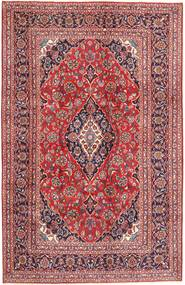 Mashad Rug 193X303 Authentic  Oriental Handknotted Dark Red/Light Pink (Wool, Persia/Iran)