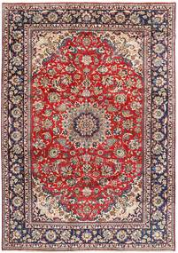 Najafabad Rug 260X370 Authentic  Oriental Handknotted Dark Red/Light Pink Large (Wool, Persia/Iran)