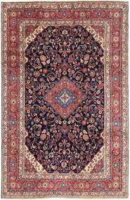 Hamadan Shahrbaf Rug 210X325 Authentic  Oriental Handknotted Light Purple/Dark Green (Wool, Persia/Iran)