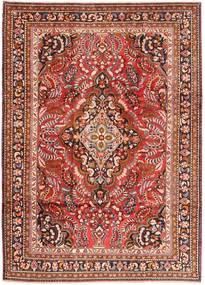 Lillian Rug 220X306 Authentic  Oriental Handknotted Rust Red/Brown (Wool, Persia/Iran)