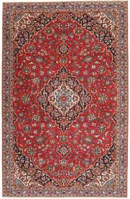 Keshan Patina Teppe 195X300 Ekte Orientalsk Håndknyttet Mørk Rød/Brun (Ull, Persia/Iran)