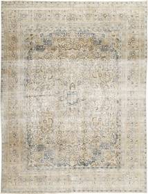 Colored Vintage Rug 285X380 Authentic  Modern Handknotted Light Grey/Dark Beige Large (Wool, Persia/Iran)