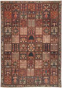 Bakhtiari Patina Rug 210X310 Authentic  Oriental Handknotted Dark Brown/Dark Red (Wool, Persia/Iran)