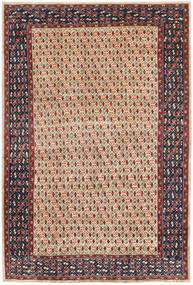 Arak Patina Vloerkleed 205X305 Echt Oosters Handgeknoopt Donkerbruin/Donkerrood (Wol, Perzië/Iran)