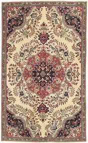 Tabriz Patina Matto 150X252 Itämainen Käsinsolmittu Vaaleanruskea/Tummanruskea (Villa, Persia/Iran)