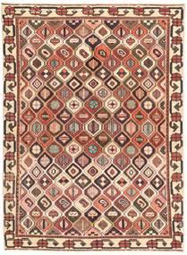 Bakhtiar Patina Alfombra 140X196 Oriental Hecha A Mano Marrón Claro/Beige Oscuro (Lana, Persia/Irán)