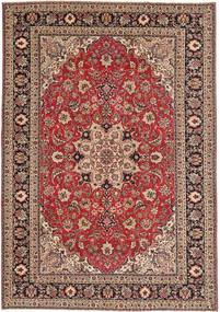 Tabriz Patina Rug 200X287 Authentic  Oriental Handknotted Dark Red/Light Brown (Wool, Persia/Iran)