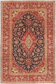 Keshan Patina Teppe 190X290 Ekte Orientalsk Håndknyttet Mørk Rød/Lysbrun (Ull, Persia/Iran)